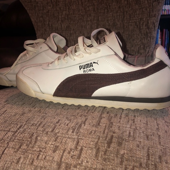 556a7063220 Cream   Brown Puma Roma - Read Description!